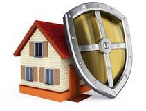 35ccb42d43f0e Proteção de sua casa ilustração stock. Ilustração de edifício - 21939085