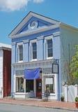 Casa e restaurante históricos em Smyrna Delaware fotografia de stock royalty free