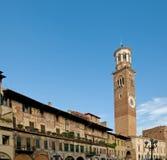 Casa e torre de Mazzanti Fotos de Stock