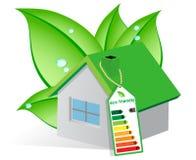 Casa ecológica Imagen de archivo libre de regalías