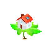 Casa ecológica Fotografia de Stock