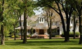Casa elegante Imagem de Stock Royalty Free