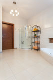Casa elegante - banheiro foto de stock royalty free