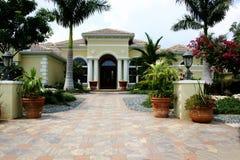 Casa elegante della proprietà Immagini Stock
