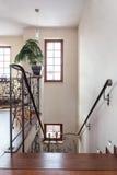 Casa elegante - escadaria foto de stock royalty free