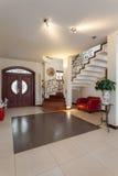 Casa elegante - interior imagem de stock