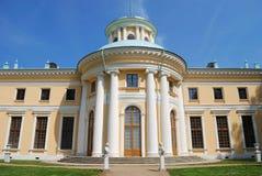 Casa em Archangel'skoye, Moscovo do solar imagens de stock