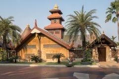 Casa em Bankok em Tailândia fotografia de stock royalty free