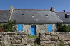 Casa em Brittany, França Fotografia de Stock