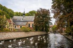 A casa em Bruges Foto de Stock Royalty Free