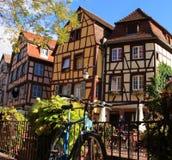 Casa em Colmar, Alsácia, França Fotografia de Stock