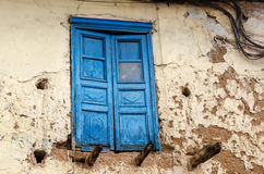 Casa em Cusco foto de stock