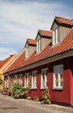 Casa em Dinamarca Imagens de Stock Royalty Free