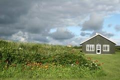 Casa em Dinamarca foto de stock royalty free