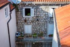 Casa em Dubrovnik Fotografia de Stock Royalty Free