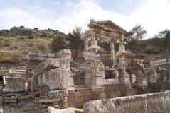 A casa em Ephesus Fotos de Stock Royalty Free