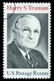 Casa em Grandview, Missouri da exploração agrícola de Harry S Truman Postage Stamp fotografia de stock royalty free