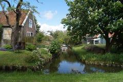 Casa em Hindeloope Foto de Stock Royalty Free