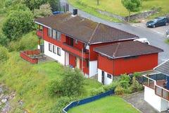 Casa em Noruega Fotos de Stock