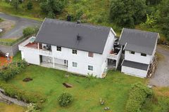 Casa em Noruega Imagens de Stock