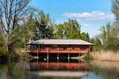 Casa em República Checa Foto de Stock Royalty Free
