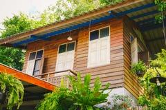 Casa em Tailândia rural Foto de Stock Royalty Free