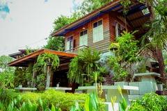 Casa em Tailândia rural Fotos de Stock