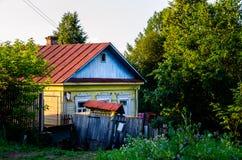 Casa em Tarusa Foto de Stock Royalty Free