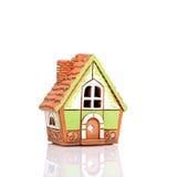 Casa em um fundo isolado Imagens de Stock