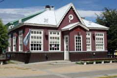 Casa em Ushuaia Imagens de Stock Royalty Free
