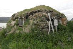 Casa embalada, um esconderijo subterrâneo Fotografia de Stock Royalty Free