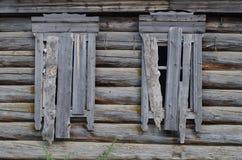 Casa Embarcada-acima Imagem de Stock