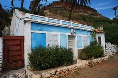Casa en África Foto de archivo