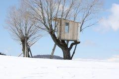 Casa en árbol imágenes de archivo libres de regalías