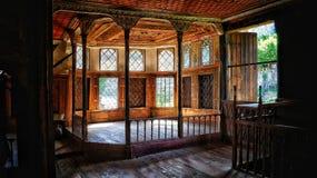 Casa en ambelakia Fotos de archivo libres de regalías