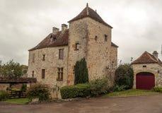 Casa en Aquitania Foto de archivo libre de regalías