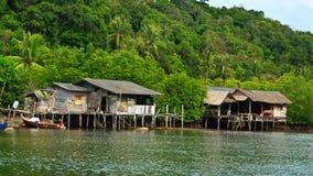 Casa en bahía Fotografía de archivo libre de regalías