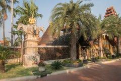 Casa en Bankok en Tailandia fotografía de archivo