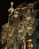 Casa en Barcelona Imagenes de archivo