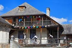 Casa en Campan Foto de archivo libre de regalías