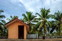 Casa en cielo Foto de archivo libre de regalías