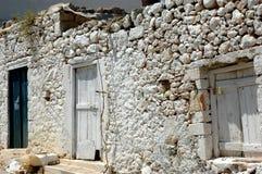 Casa en Crete Imagen de archivo