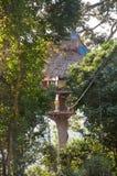 Casa en el árbol Imagen de archivo