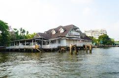 Casa en el agua Fotografía de archivo libre de regalías