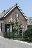 Casa en el Betuwe fotografía de archivo libre de regalías