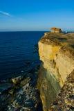 Casa en el borde del acantilado Foto de archivo libre de regalías