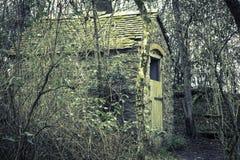 Casa en el bosque Foto de archivo