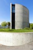 Casa en el cemento, al aire libre imagen de archivo libre de regalías