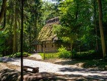 Casa en el parque Shevchenko Imagen de archivo