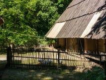 Casa en el parque Shevchenko Imagenes de archivo